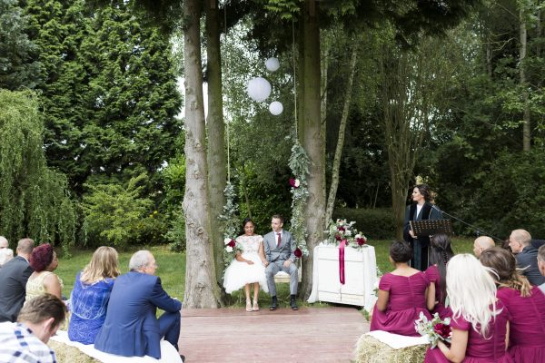 tuin bruiloft